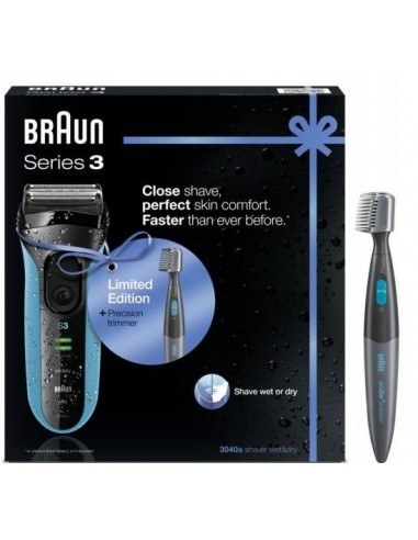 Afeitadora Braun 3040 Promo Pack...