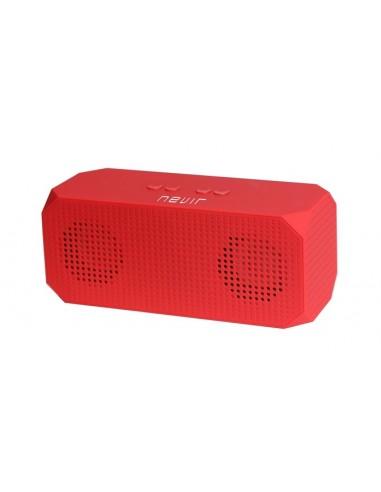 Altavoz Nevir Nvr821b Rojo Bluetooth...