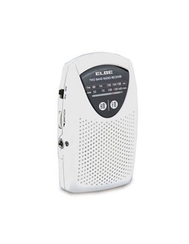 RADIO ELBE RF50 MINI DE BOLSILLO BLANCA