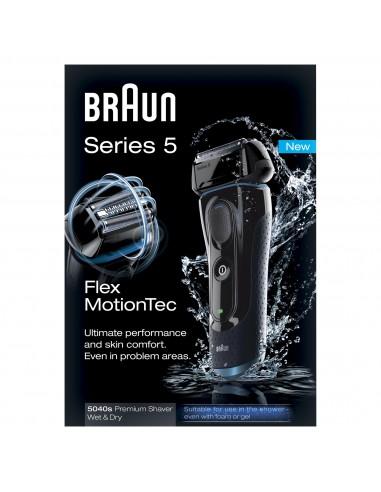 Afeitadora Braun 5040 W&d Serie 5