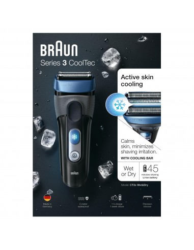 Afeitadora Braun Ct2 Cooltec...