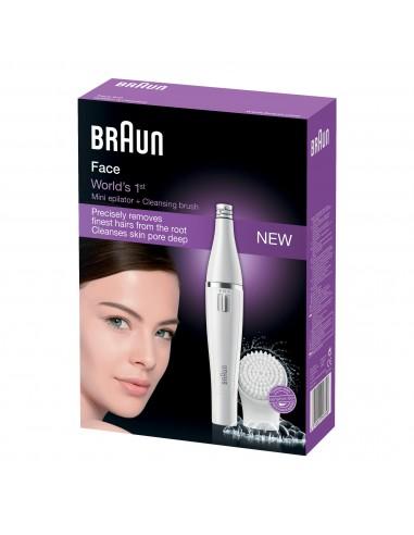 Depiladora Braun Face810 Depila Y...
