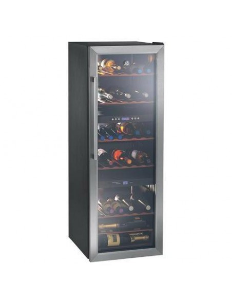 Vinoteca Otsein Hwc2536 Dl  Inox 142x49 Tres Zonas Display 70  Botellas