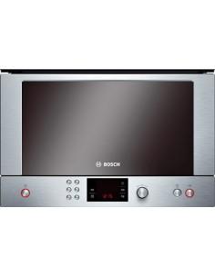Microondas Bosch Hmt85m651  Inox 21 Litros Apertura   Lateral Al  Derecha