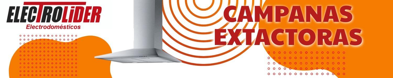 CAMPANAS EXTRACTORAS - ELECTROLIDER